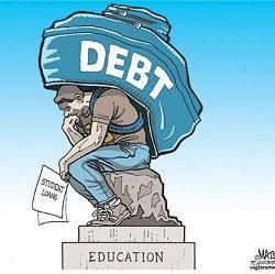 Millennial student loan debt